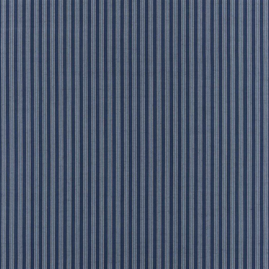 Ralph Lauren Tyg Bungalow Stripe Indigo