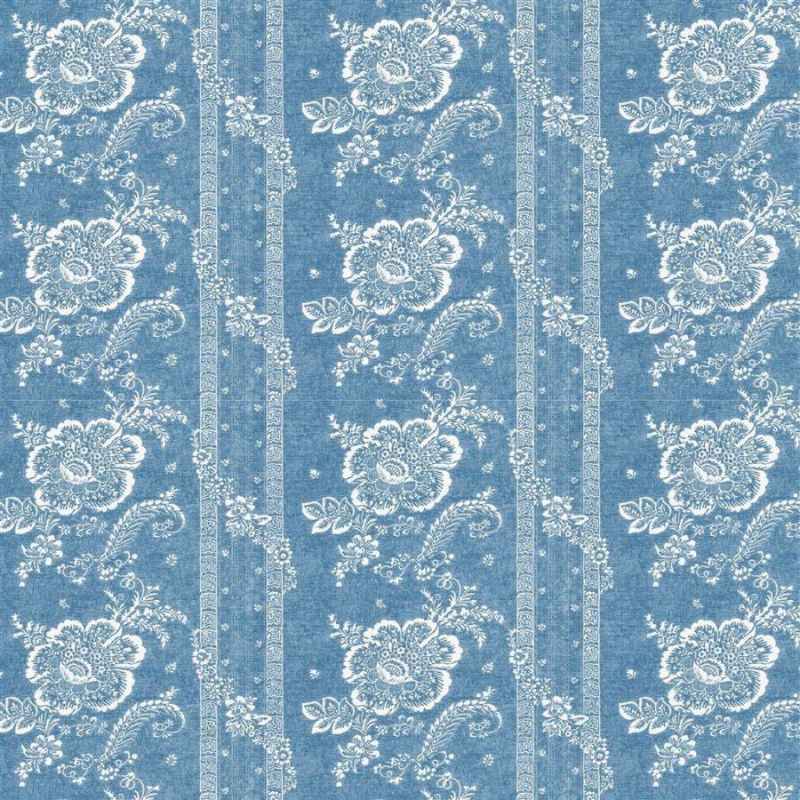 Ralph Lauren Tyg Batik Florette Vintage Blue