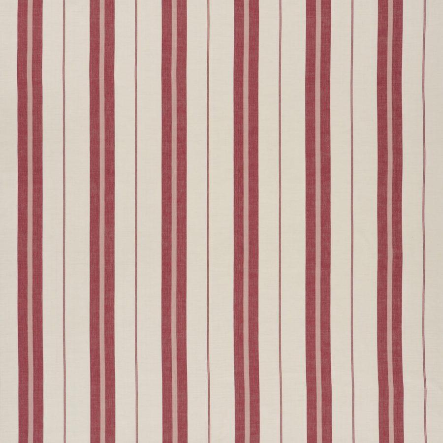 Ralph Lauren Tyg Adamson Stripe Vineyard Red