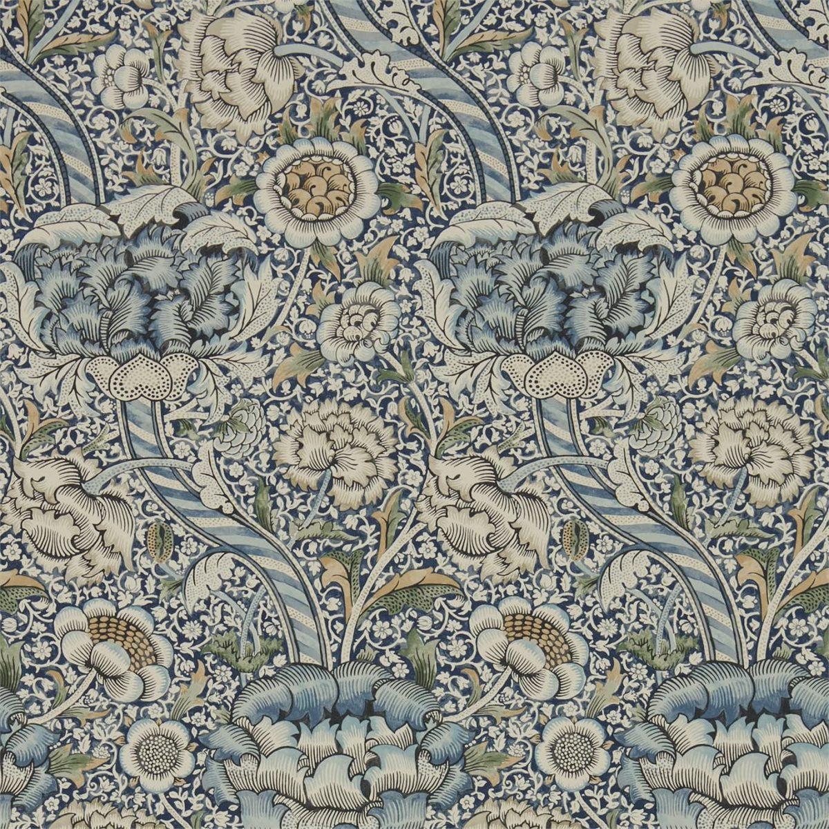 William Morris Tapet Wandle Blue Stone Archive IV