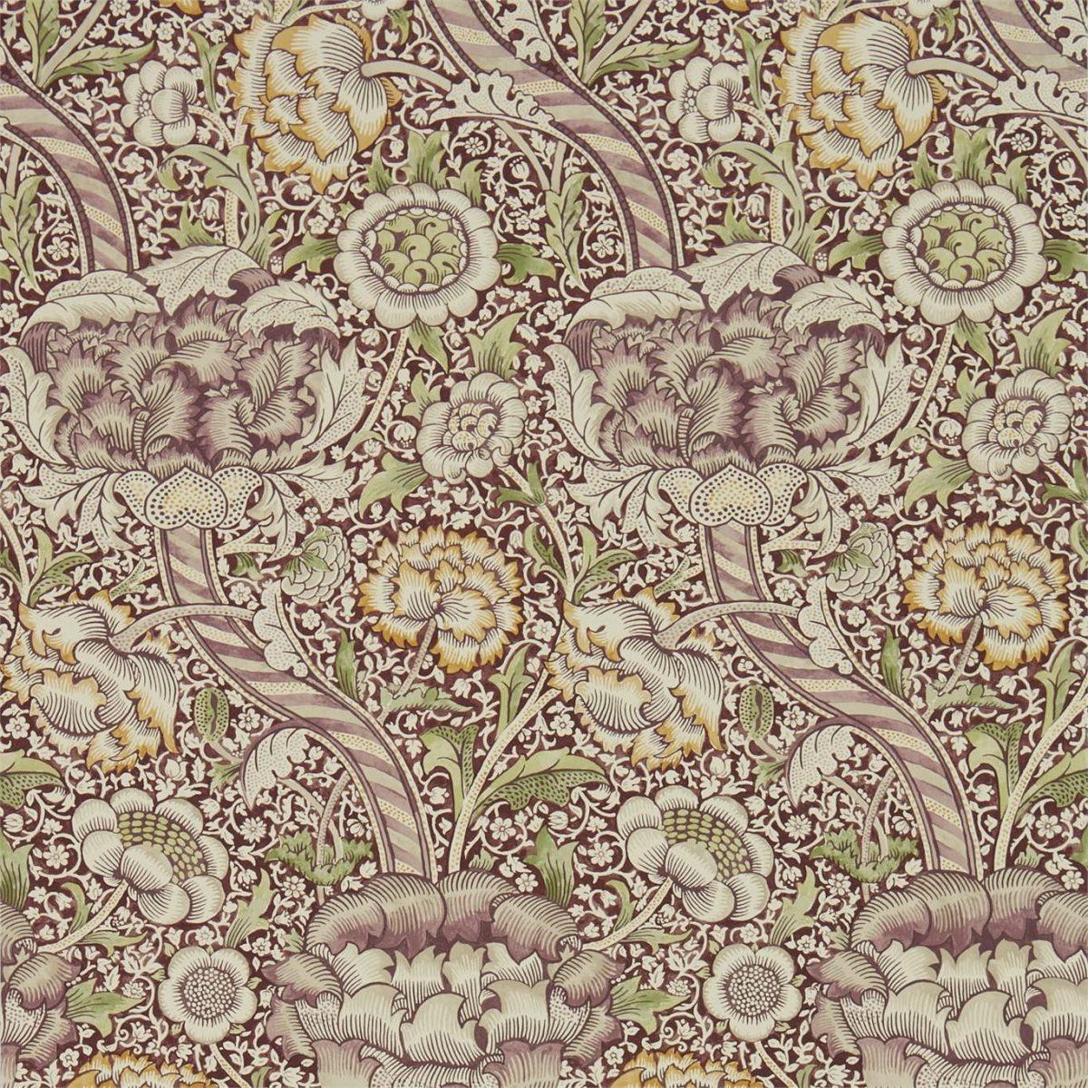 William Morris Tapet Wandle Wine / Saffron Archive IV