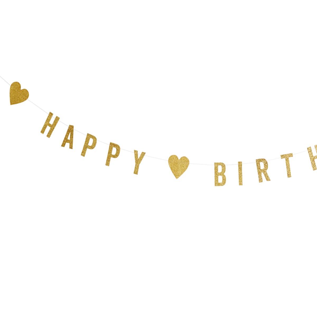 Madam Stoltz Girlang Happy Birthday