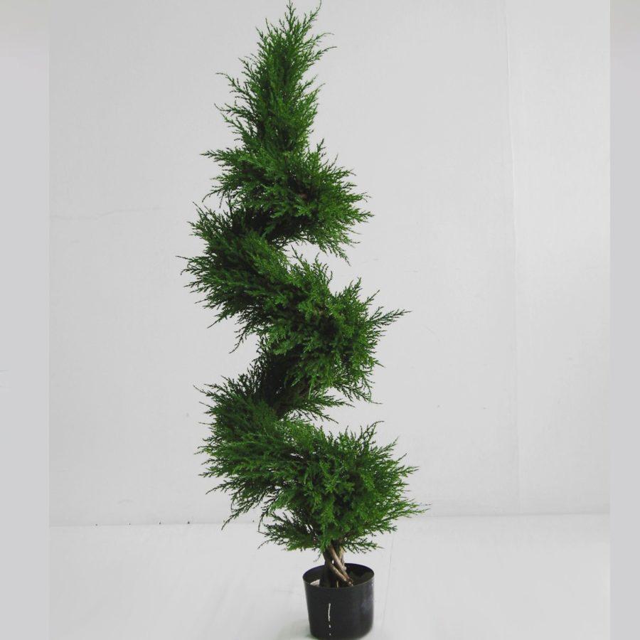 Konstgjorda växter Cypress