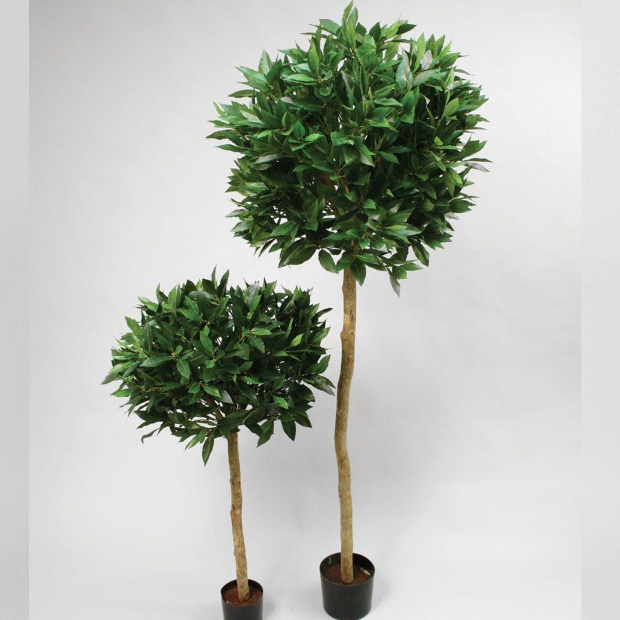 Konstgjorda växter Lagerblad på stam