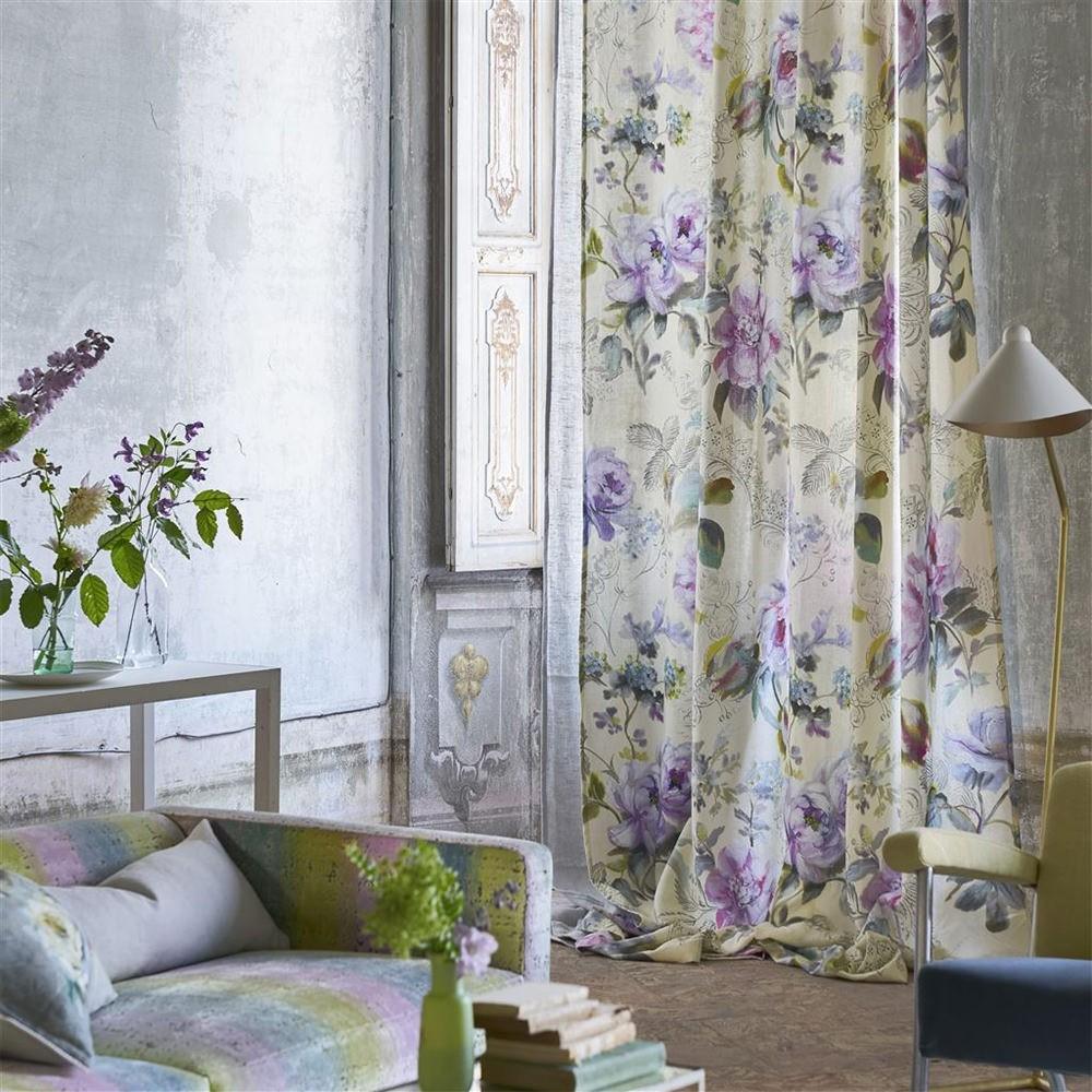 Designers Guild tyg Giardino Segreto Camille Buttermilk