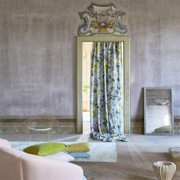 Designers Guild tyg Giardino Segreto Veronnet Zink