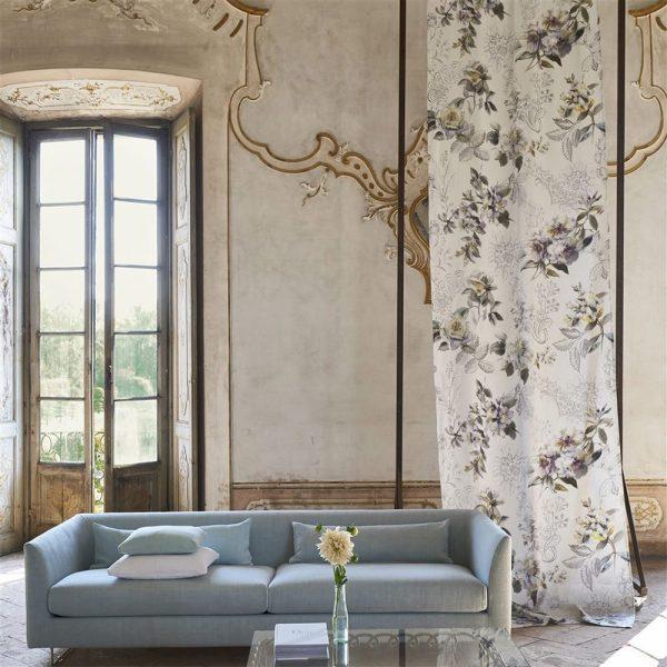 Designers Guild tyg Giardino Segreto Victorine Viola