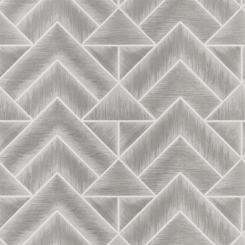 Designers Guild Tapet Mandora Silver