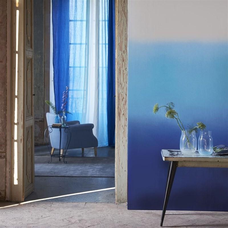 Designers Guild Tapet Savoie Cobalt