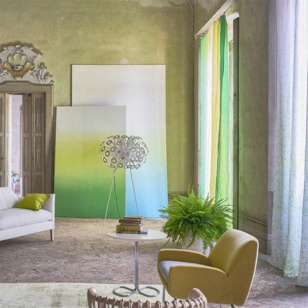 Designers Guild Tapet Savoie Lemongrass