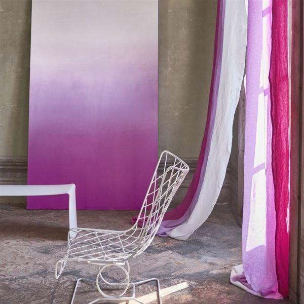 Designers Guild Tapet Savoie Fuchsia