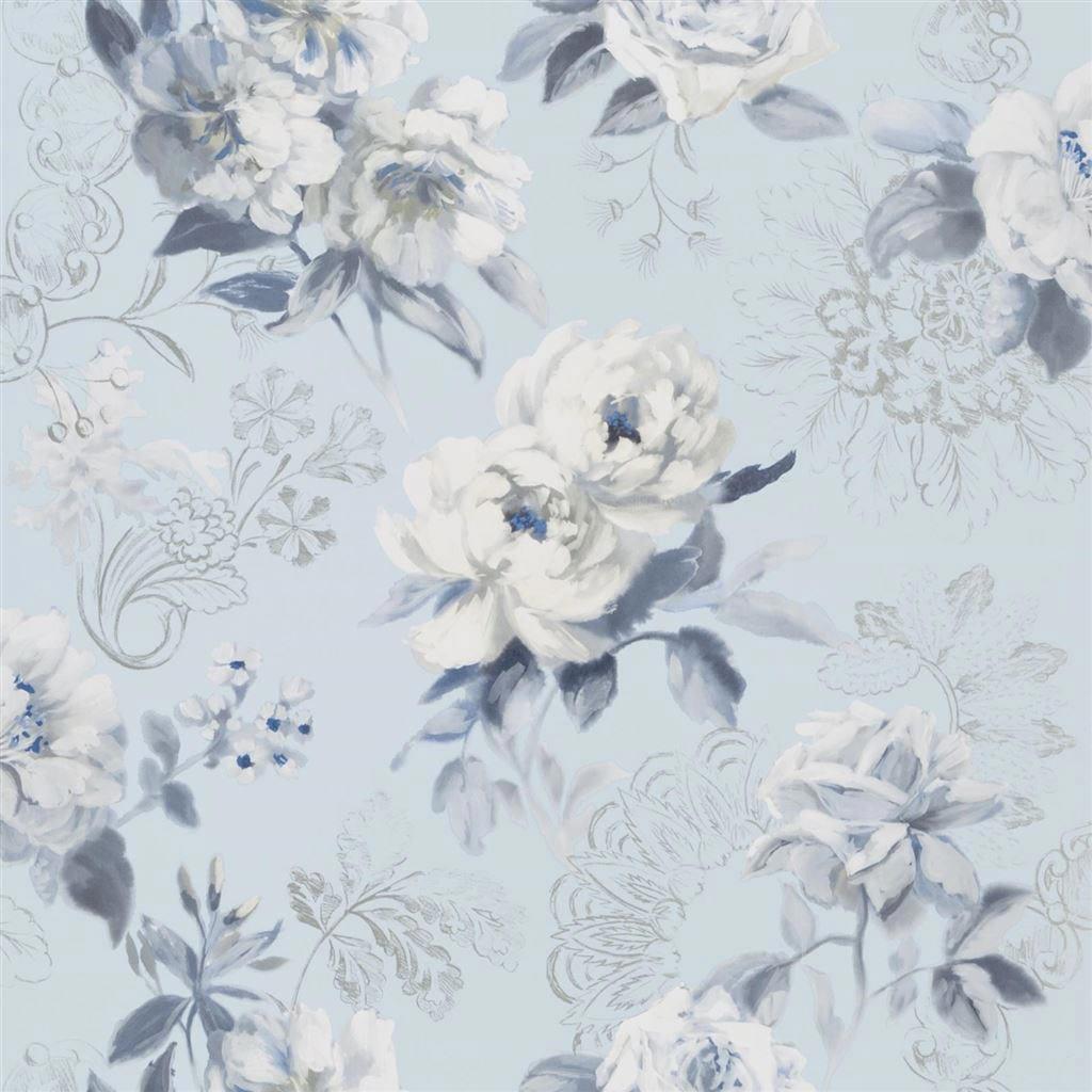 Designers Guild Tapet Victorine Cornflower