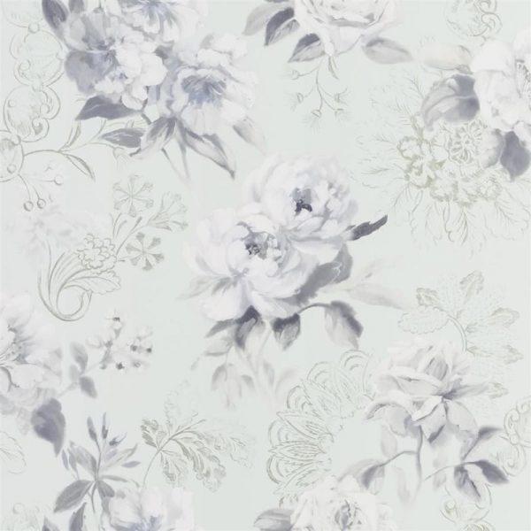Designers Guild Tapet Victorine Pale Aqua