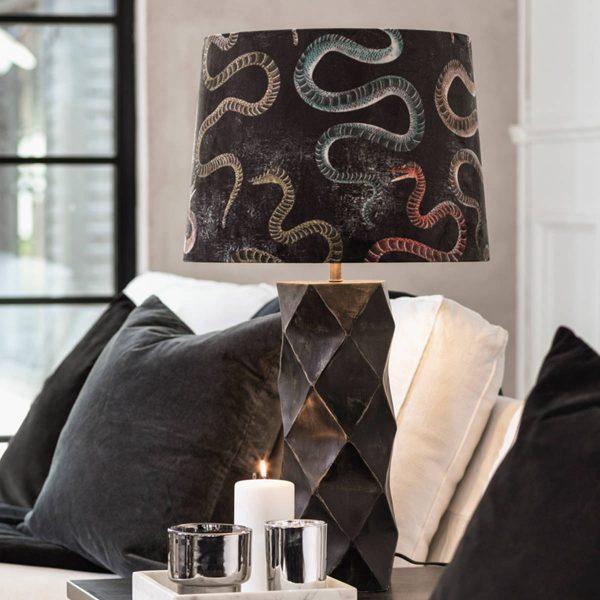 Lampskärm Sammet Snake