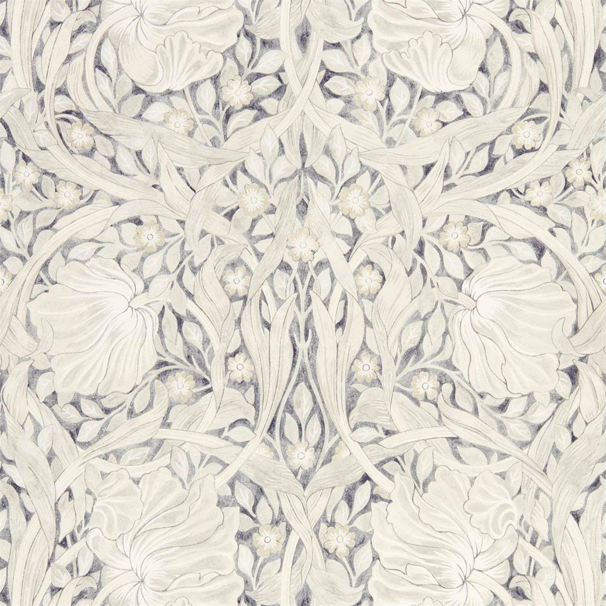 William Morris & Co Tapet Pure Pimpernel Black Ink