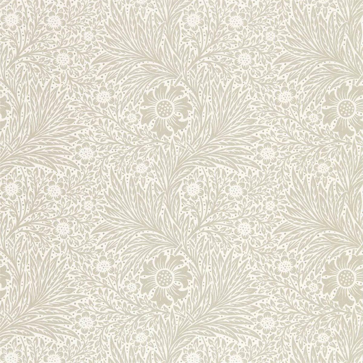 Morris & Co Tapet Pure Marigold Soft Gilver