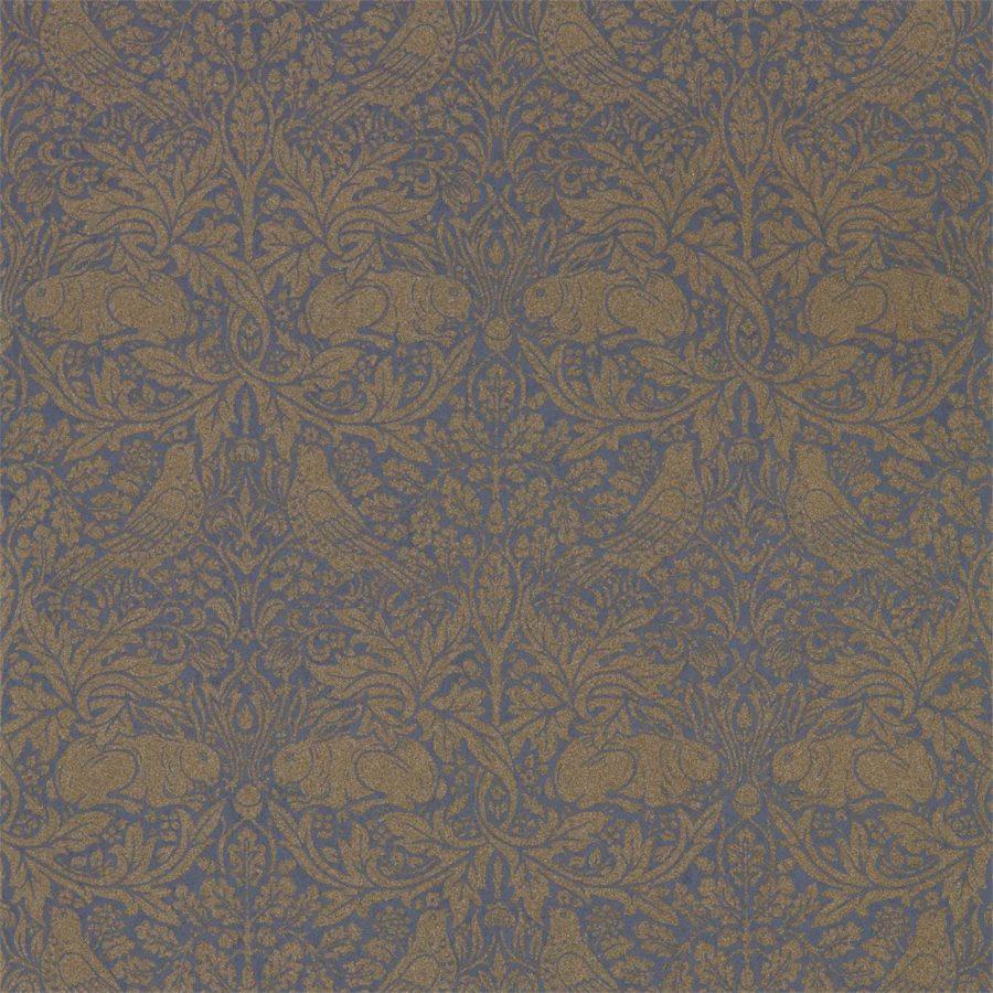 Morris & Co Tapet Pure Brer Rabbit Ink Gold