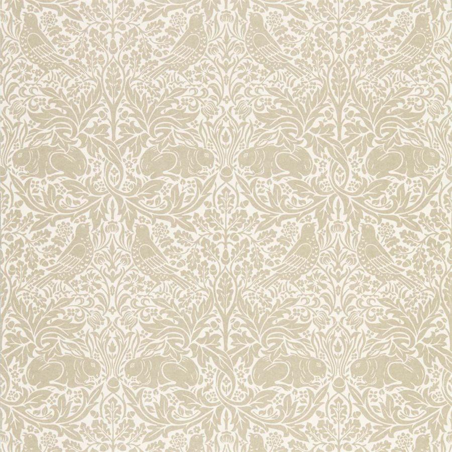 Morris & Co Tapet Pure Brer Rabbit Linen