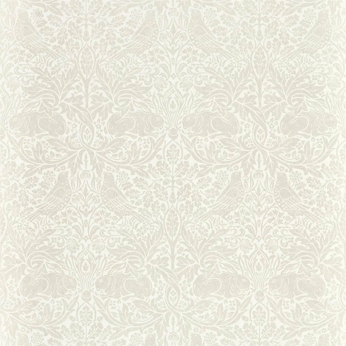 Morris & Co Tapet Pure Brer Rabbit White Clover
