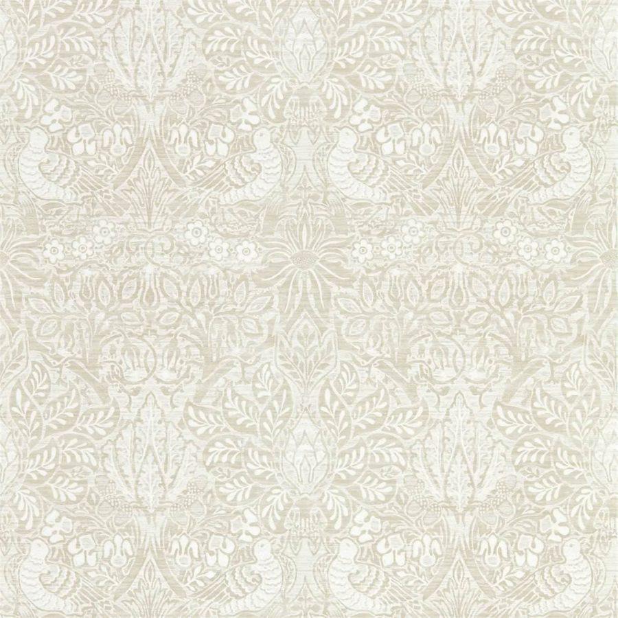 Morris & Co Tapet Pure Dove Rose White Clover