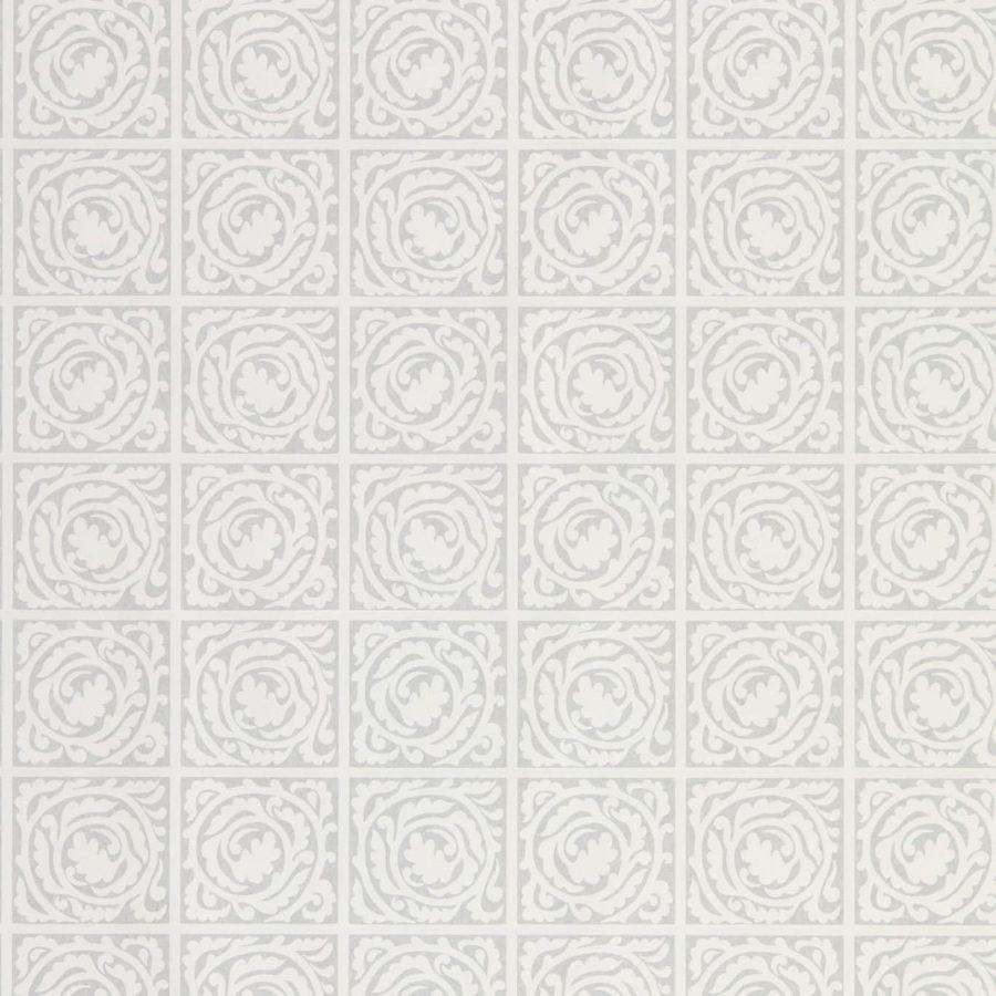 Morris & Co Tapet Pure Scroll Lightish Grey