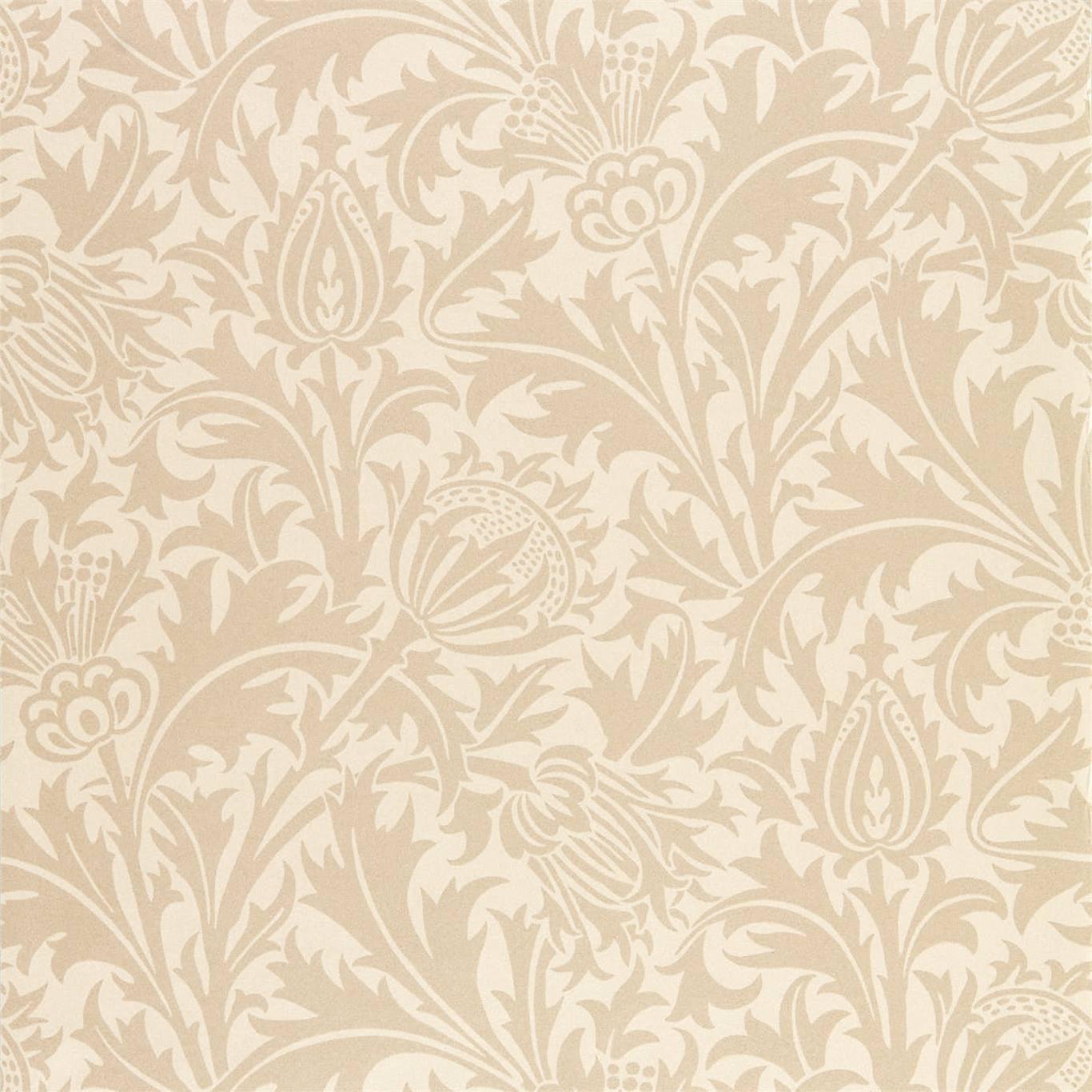 Morris & Co Tapet Pure Thistle Linen