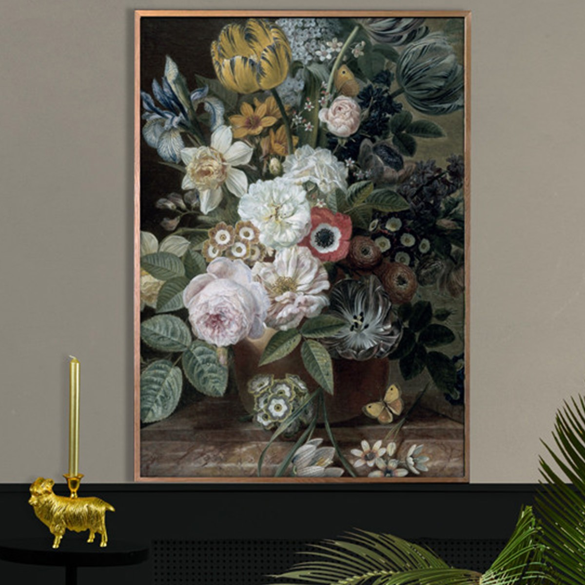Vanilla Fly Poster XL Flower Bouquet