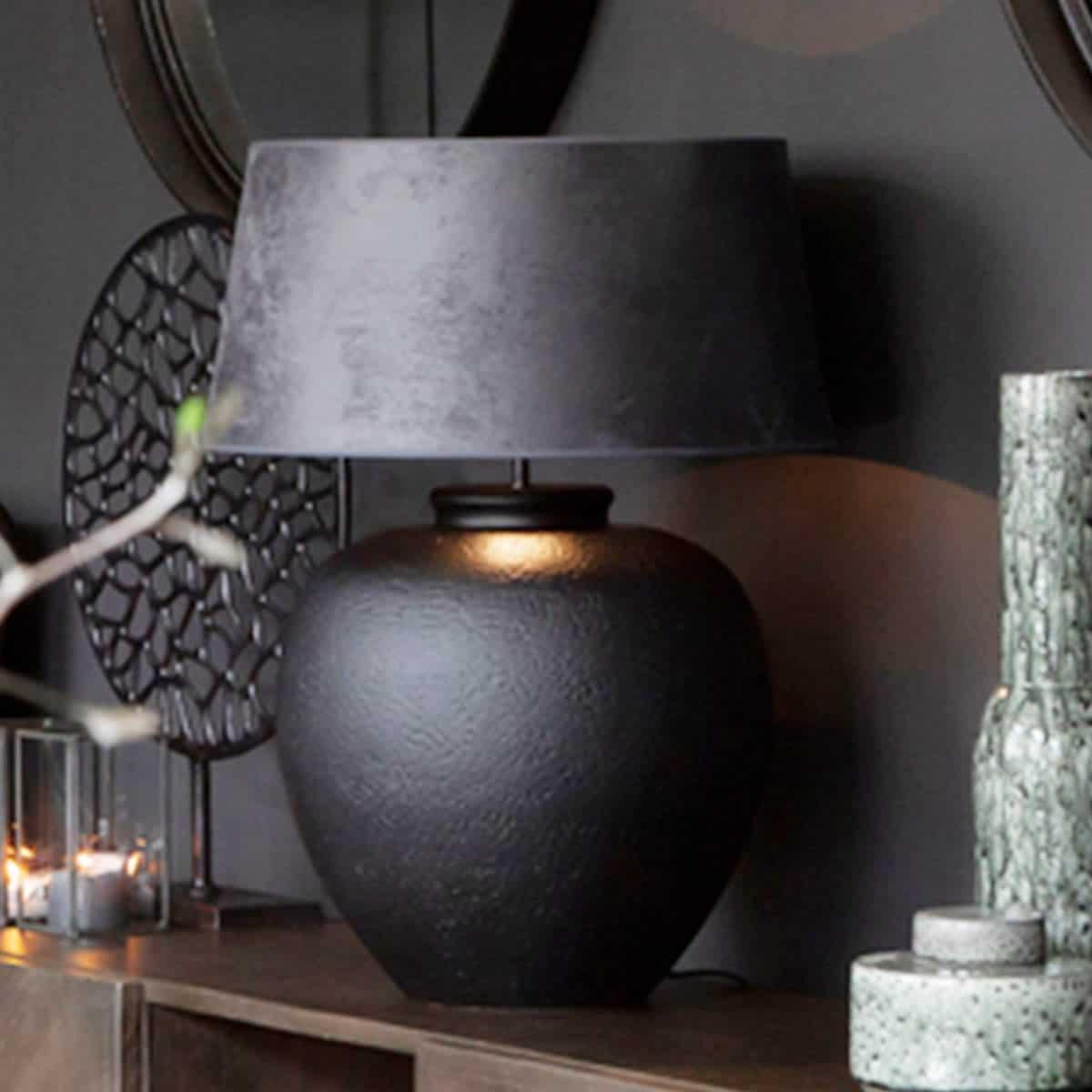 Artwood bordslampa stor trä