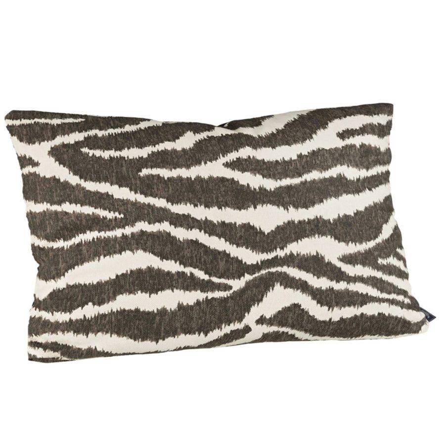 Artwood Kuddfodral avlångt Wildcat peppercorn zebra