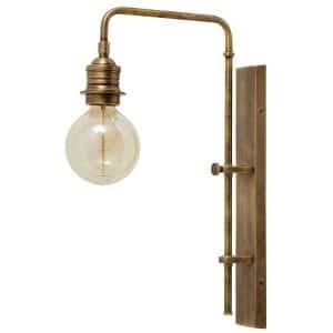 Nordal Vägglampa St Raphael vintage mässing