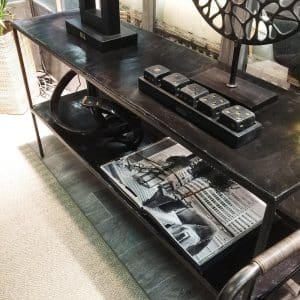 Artwood Avlastningsbord Golvhylla Mille svart