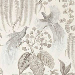 Sanderson Tapet Bird of Paradise Linen