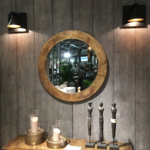 Artwood Vägglampa Anzio svart metall