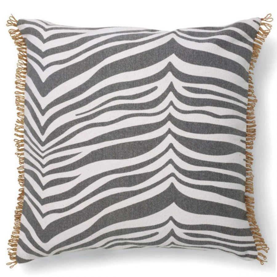 Classic Collection Kuddfodral Zebra Titanium grå