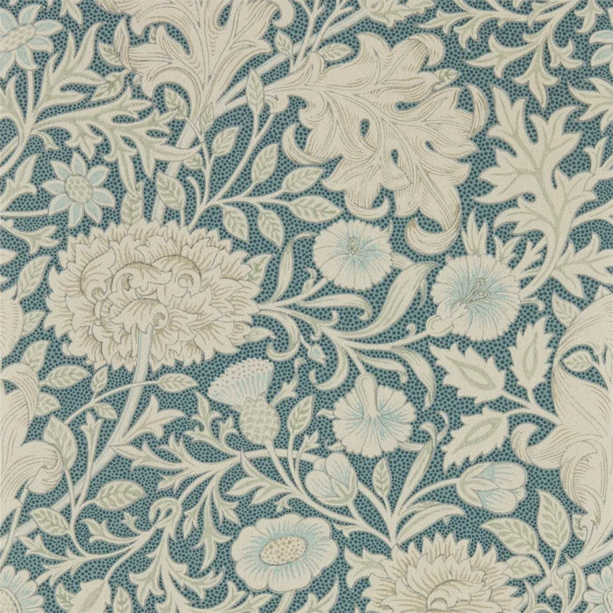 William Morris & Co Tapet Double Bough Slate Blue
