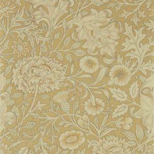 William Morris & Co Tapet Double Bough Antique Gold
