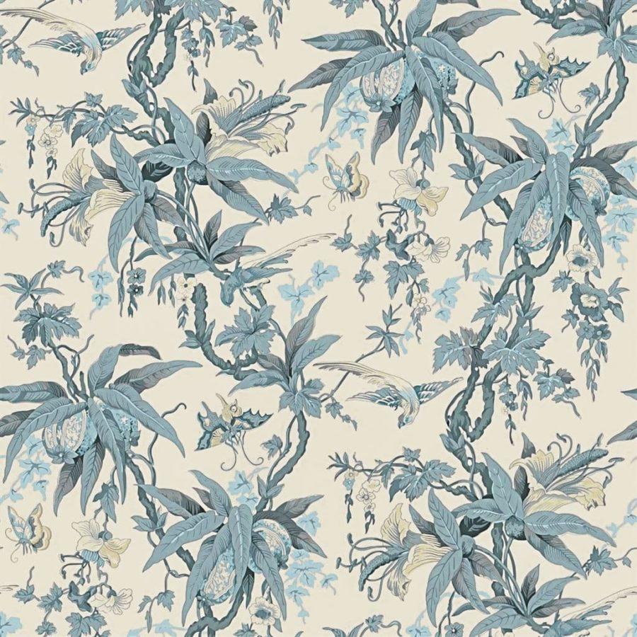 Ralph Lauren Tapet Mary Day Botanical Slate