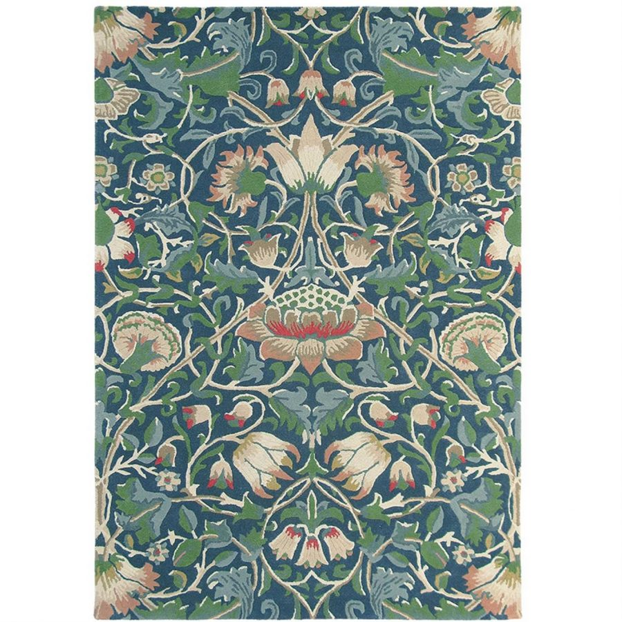 William Morris & Co Matta Lodden Indigo Mineral