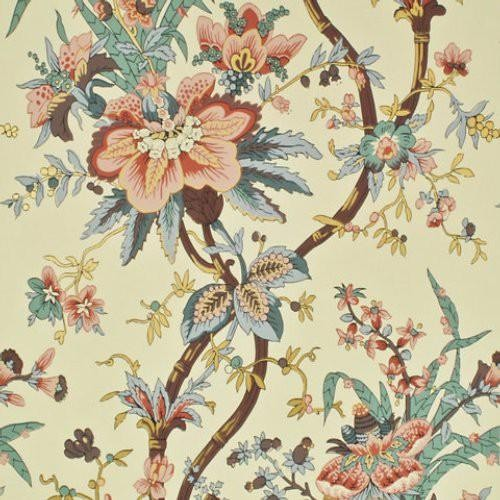 Ralph Lauren Tyg Yarmouth Floral Virginia Rose