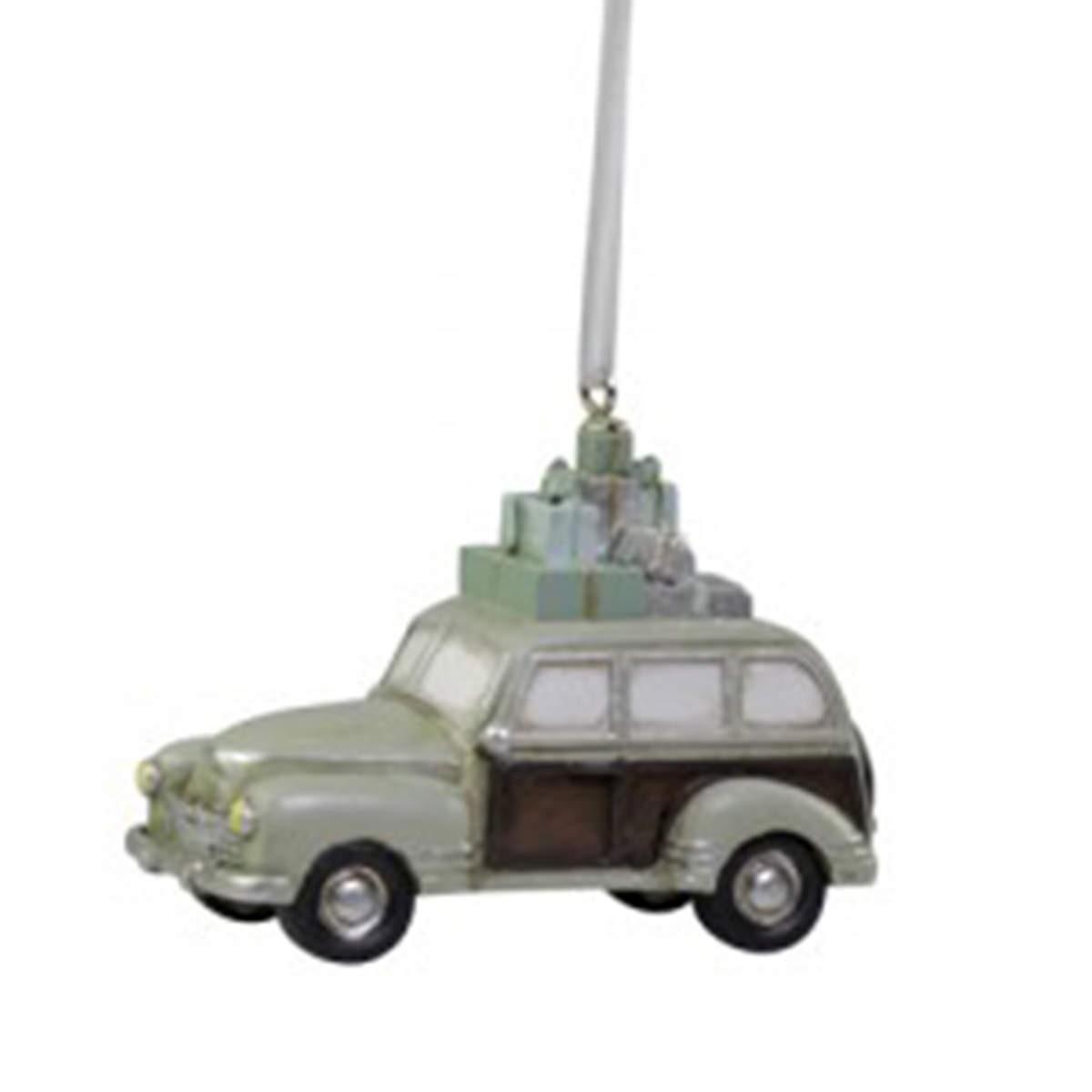 Juldekoration Bil med Paket