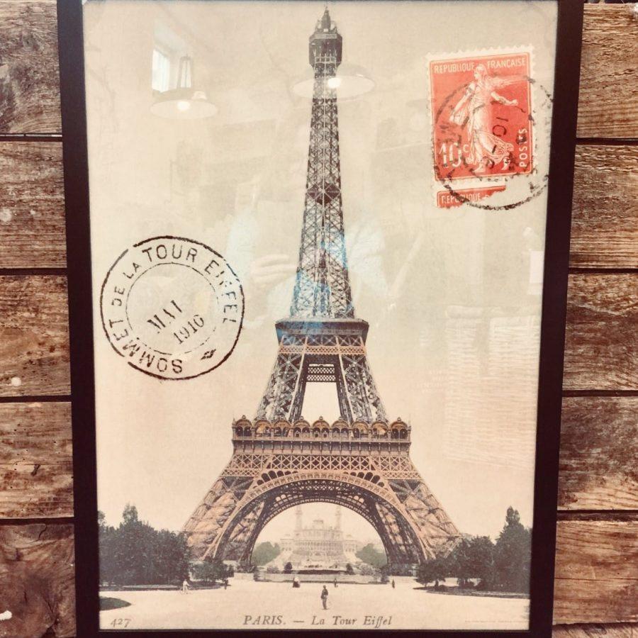 Poster Cavallini & Co Eiffeltornet