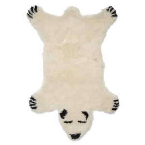 Classic Collection Matta Polar Bear vit barnrumsmatta