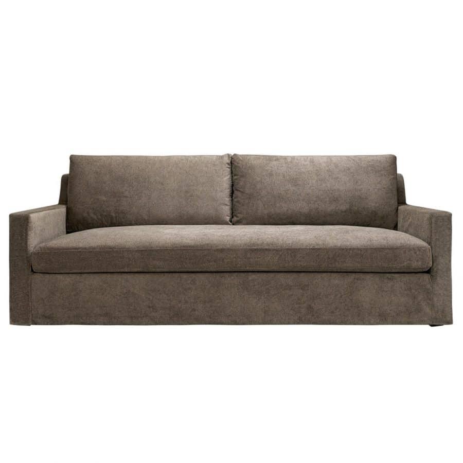 Artwood Soffa Guilford True Brown 3-Sits brungrå stor soffa