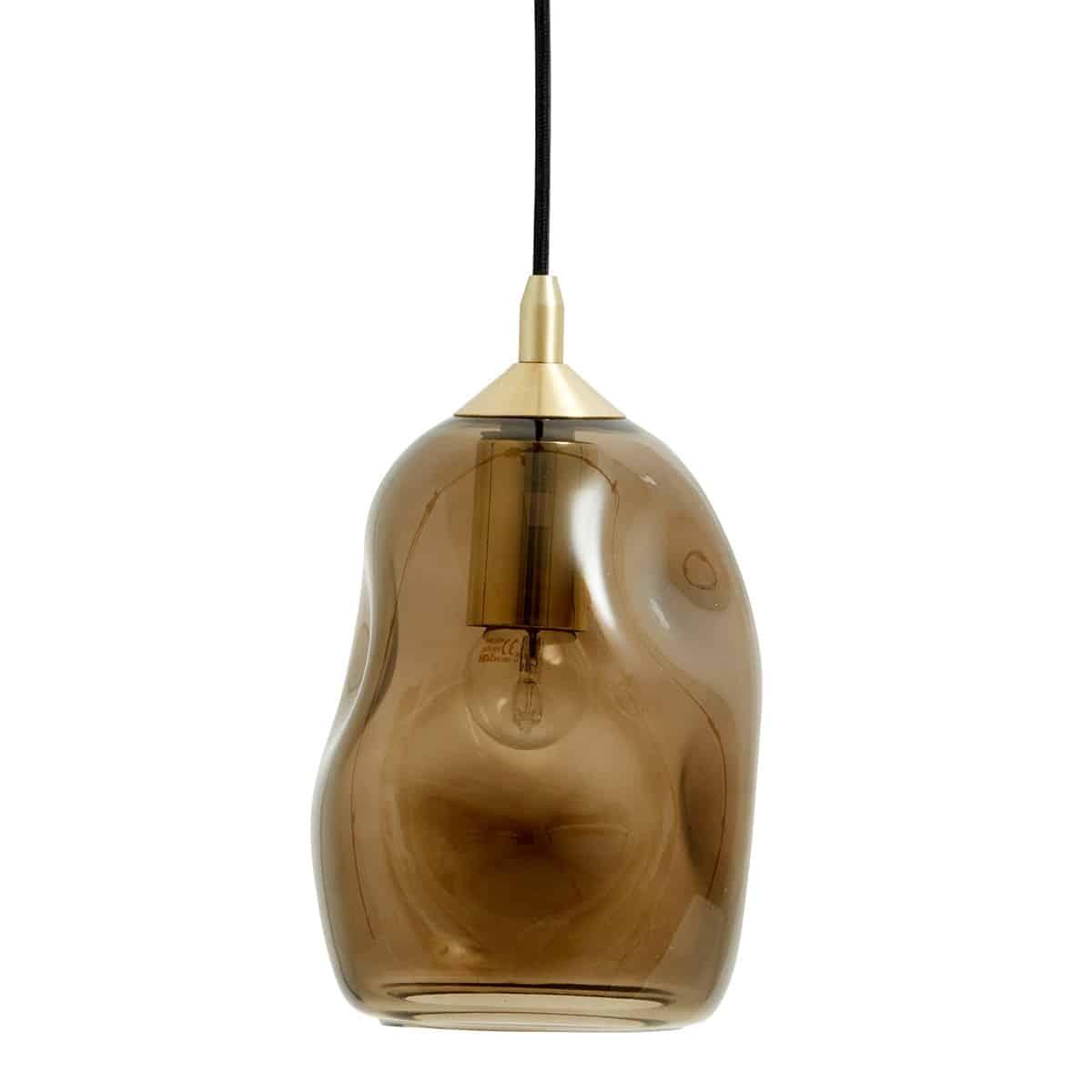 Nordal Taklampa organsik form glas