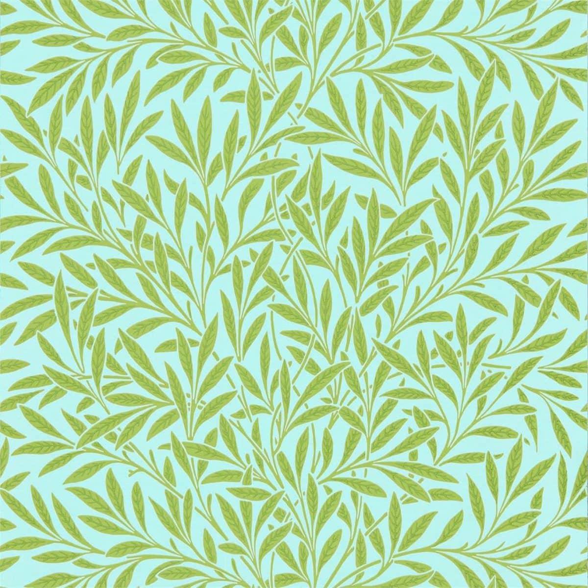 William Morris tapet Willow Bough Sky Leaf
