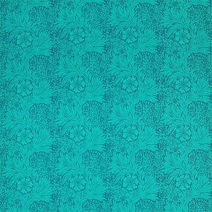 William Morris Tyg Marigold Navy / Turquoise