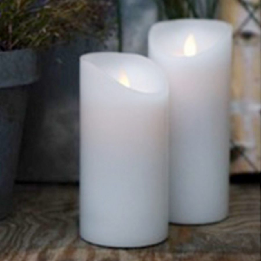 Endless Candles Batteriljus 2-pack Höjd 20 cm