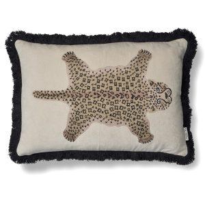 Classic Collection Avlångt Kuddfodral Pardus Leopard beige
