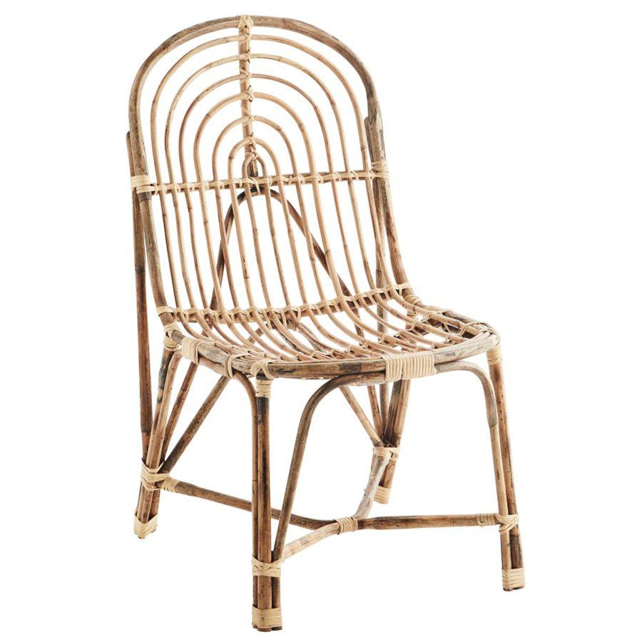 Madam Stoltz Lounge Stol Bambu