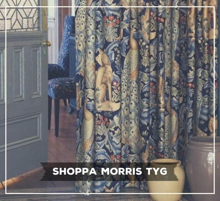 Morris & Co nya ljuvliga sammetstyger i fantiskt kvalitet!